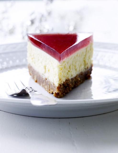cheesecake med digestive bund