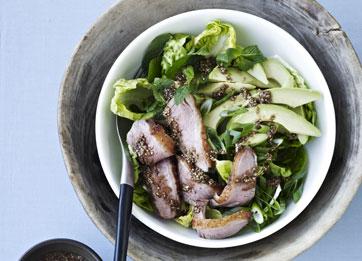 salat+med+and+og+avokado
