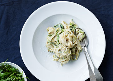 pasta+med+squash+og+ricotta