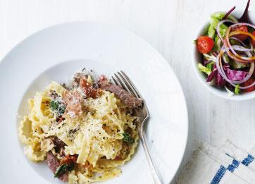 pasta+a+la+saltimbocca