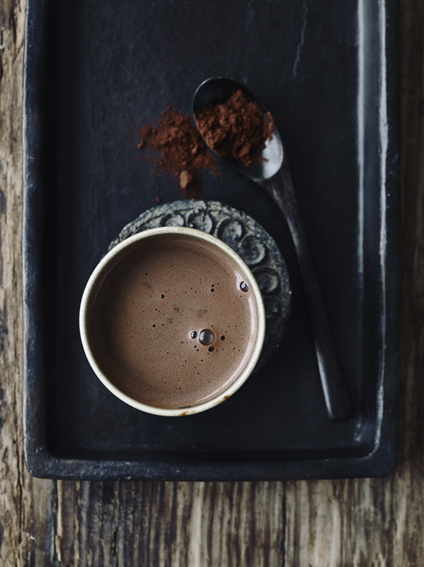 varm mandel kakao