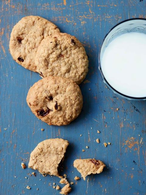 havregryns cookies