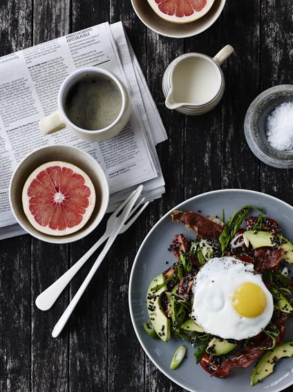 avocado morgenmadssalat
