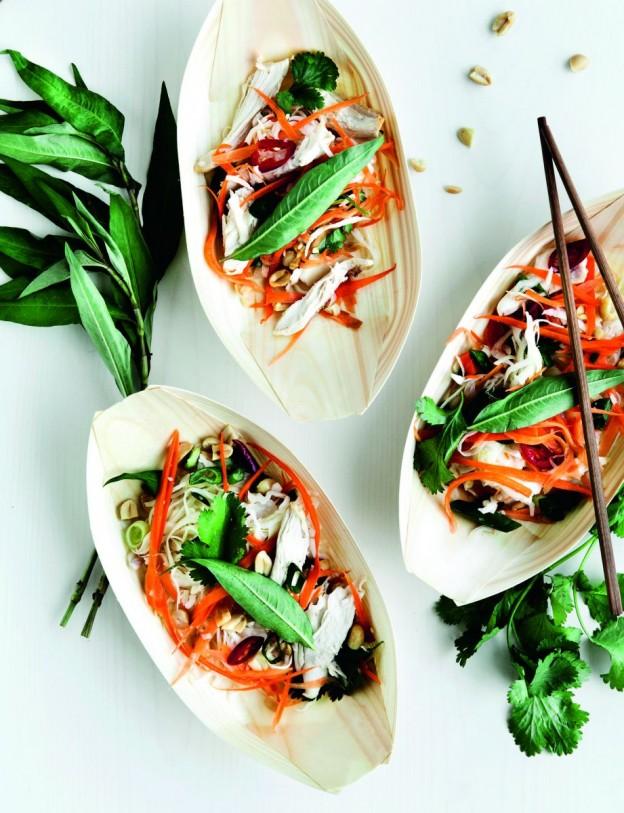 Vietnamesisk salat møl