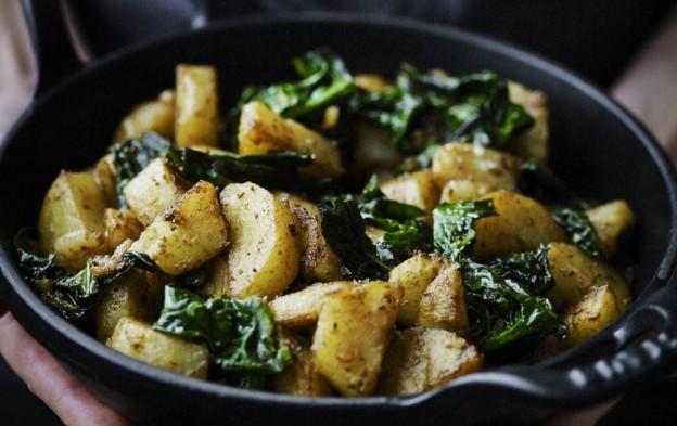 garam masala kartofler