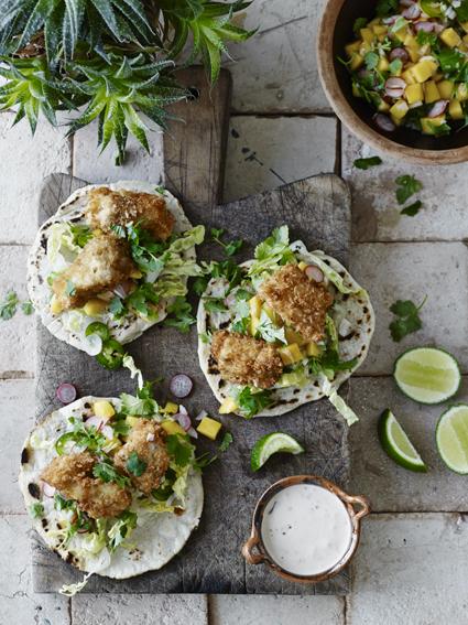 90 Fish taco