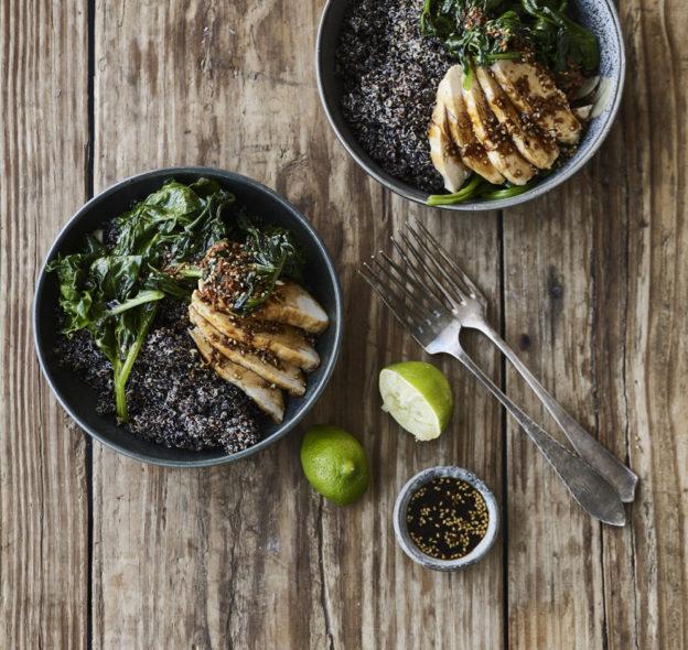 quinoabowl med kylling