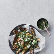 søde kartofler med chimichurri