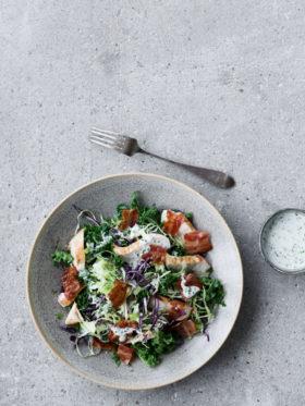 Winter cowgirl salad